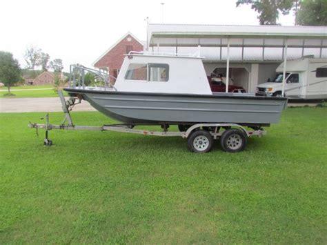 Jon Boat With Cabin by Cabin Boat Louisiana Sportsman Classifieds La
