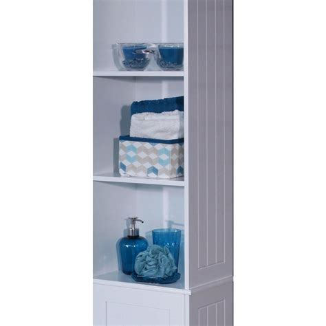 Bathroom Towel Storage Units Modern White Open Bathroom Unit Towel Toiletry Storage Cabinet Care Partnerships