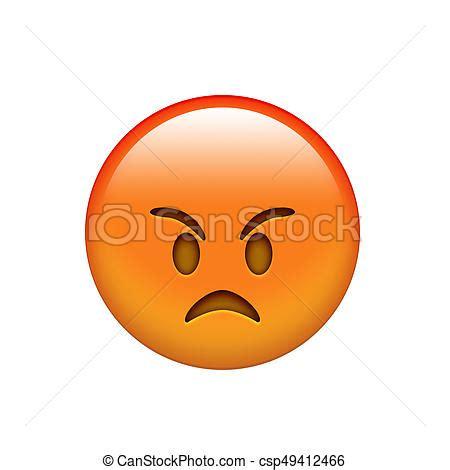 imagenes emoji enojado enojado cara amarilla emocional emoji rojo icono