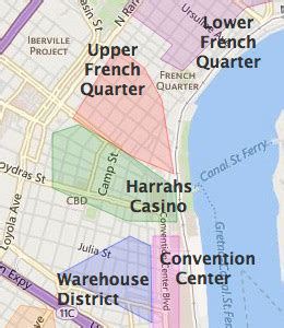 map of new orleans hotels near convention center new orleans warehouse district hotels new orleans