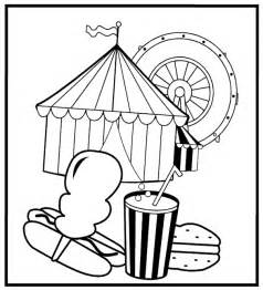carnival coloring pages free coloring pages of carnival