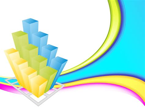 Colorful Business 3d Graph Backgrounds 3d Business Templates Free Ppt Backgrounds And 3d Powerpoint Templates