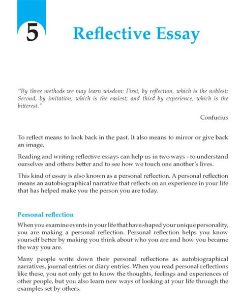 Tips On Writing A Reflective Essay by The 25 Best Sle Essay Ideas On Essay Writing Exles Essay About And