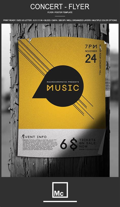 27 Best Images About Flyers On Pinterest Festivals Flyer Template And Church Concert Poster Template