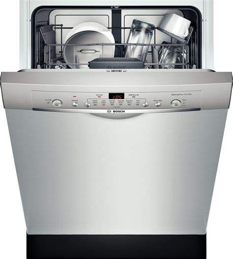 shearuc bosch ascenta  dishwasher wrecessed handle stainless steel