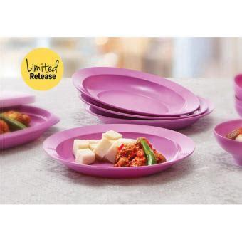 Breakfast Plate Tupperware Piring daftar harga tupperware terbaru murah update oktober 2018