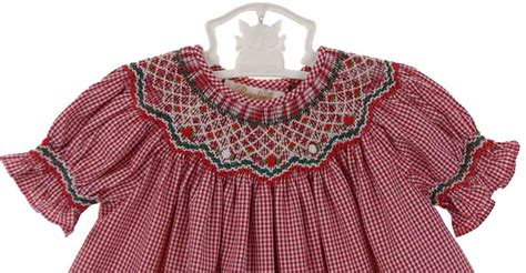 pattern matching bishop rosalina red checked christmas dress for baby girls red