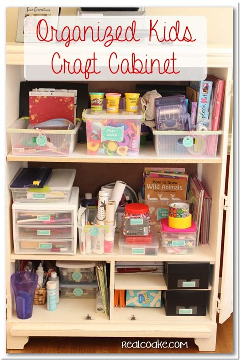 organizing crafts craft area organization with printable labels