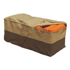 new outdoor cushion storage bag patio furniture chaise organizer protector cover ebay