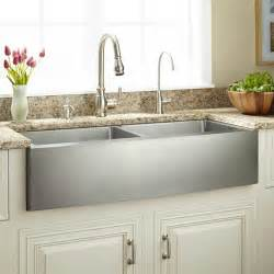 stainless farmhouse kitchen sinks 30 quot optimum stainless steel farmhouse sink kitchen