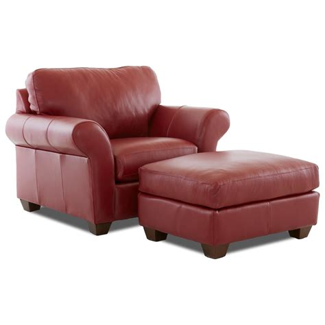 leather chair and ottoman sets leather chair and ottoman set by klaussner wolf and