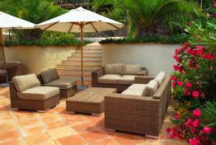 Deck Furniture Ideas by Wicker Outdoor Furniture