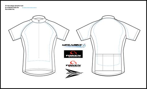 bike jersey design template cycling jersey design template illustrator images