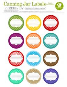 jam jar labels template free printable 12 canning jar labels freebie by apple