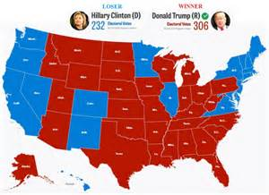 us election 2016 editable map michigan win pushes s electoral college votes to 306