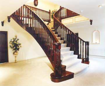 Wooden Ls Uk by Lowe And Handmade Wooden Staircases Washington