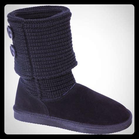 60 ugg look alike boots ugg look alike black low