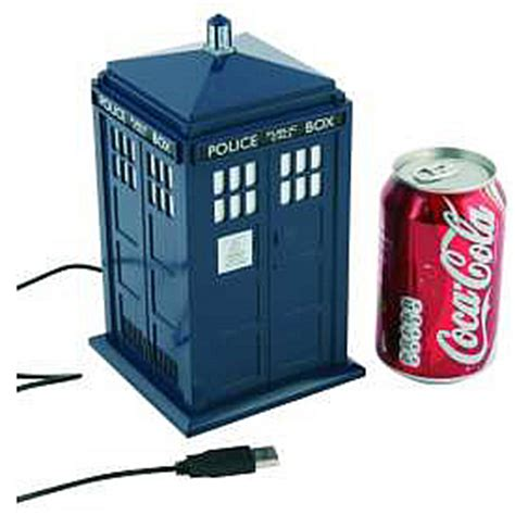 Usb Tardis Complete With Vworp by Doctor Who Tardis Usb Micro Fridge Shop Your Way
