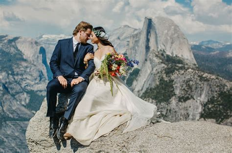 Yosemite Wedding by An Intimate Morning Wedding At Yosemite Green Wedding Shoes
