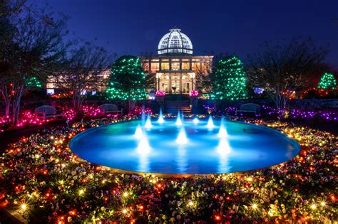 lewis ginter botanical garden lights lewis ginter festival of lights 2017 decoratingspecial com