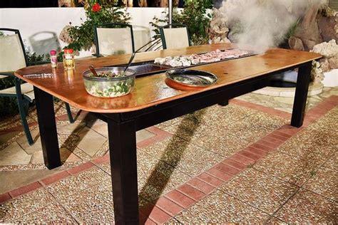 bbq table diy diy barbecue table