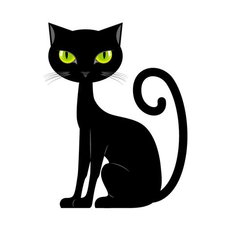 cat with green sticker cat stickers animals decals