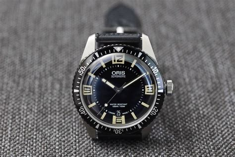 professional watches review oris sixty five diver