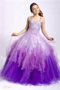 pageant dresses for girls 7 16 purple dress for