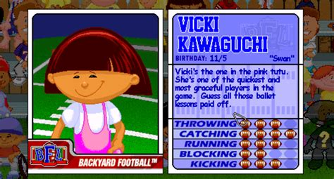 ranked the 29 best players from the backyard sports