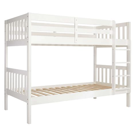 white bunk bed lewis wilton bunk bed white at lewis