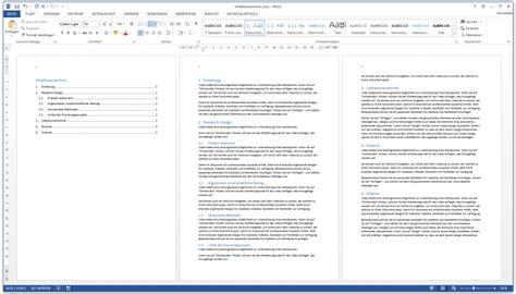 Word Vorlage Masterarbeit Word Inhaltsverzeichnis Automatisch Erstellen Kurzanleitung