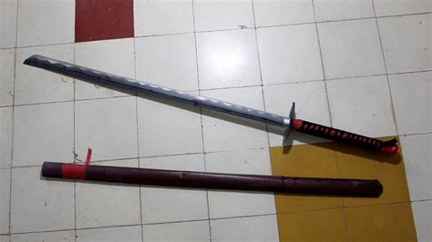 How To Make A Paper Samurai Sword - how to make a katana japanese sword with a4 printer