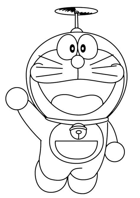 clipart da colorare 28 disegni di doraemon da colorare pianetabambini it