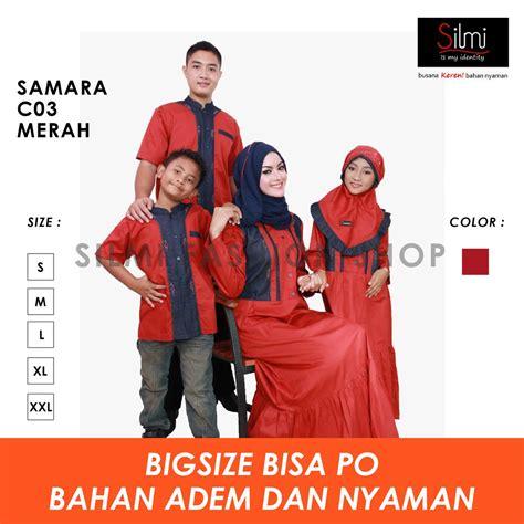 Katun Twill Size S busana muslim 100 original by samara bahan katun