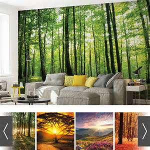 Wood Wall Mural forest wood nature wall mural photo wallpaper xxl 20 designs x 5