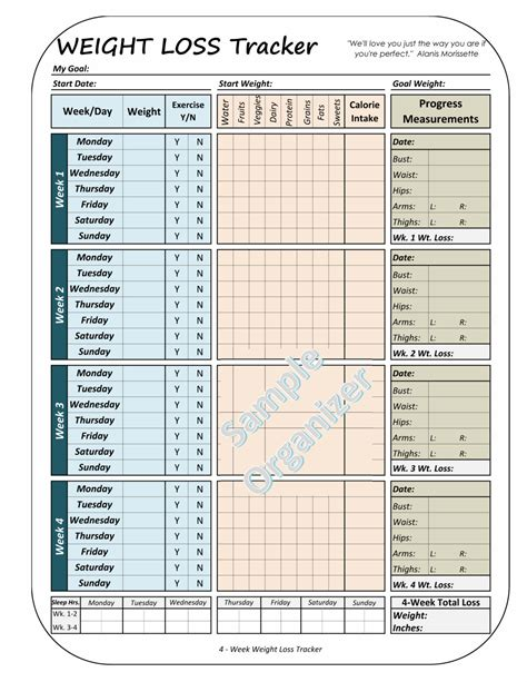 weight loss tracker chart resumess franklinfire co