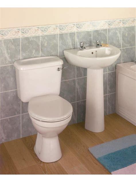 option toilet and wash basin set