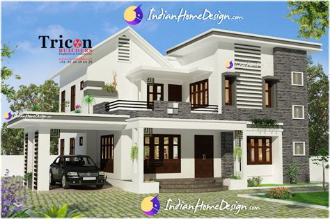 designer house 2355 sq ft 4 bathroom designer home villa elevation design