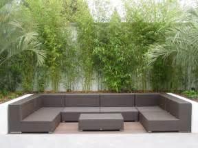 Outside Garden Furniture Contemporary Gardens