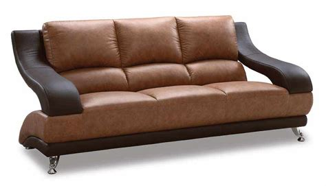 two tone leather sofa two tone sofa 89 leather sofas
