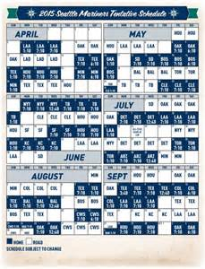 padres home schedule mariners and mlb announce 2015 schedule 171 from the corner