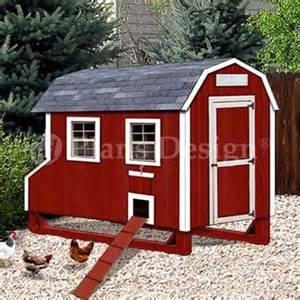 barn chicken coop plans 4 x7 barn style chicken poultry coop plans material list