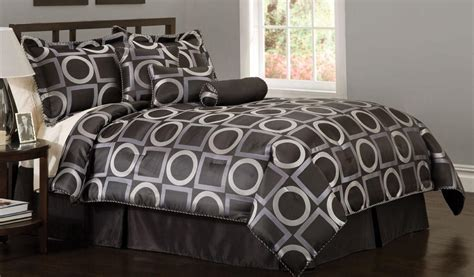 luxury of black king comforter set