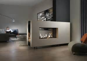 modern sided fireplace 15 ultra modern two sided fireplaces that make a real wow