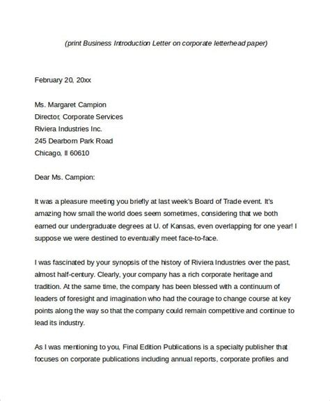 business letter word documents