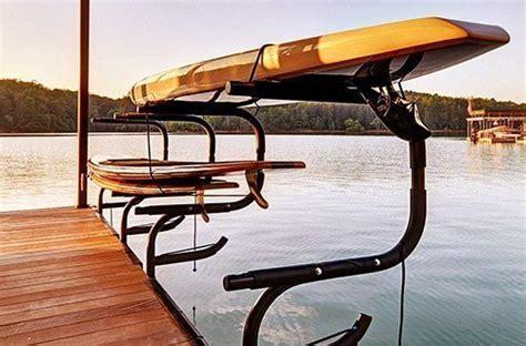 boat dock kayak rack wahoo boat docks kayak rack