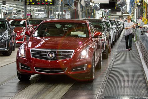 where are cadillacs made where is the cadillac cts made carrrs auto portal
