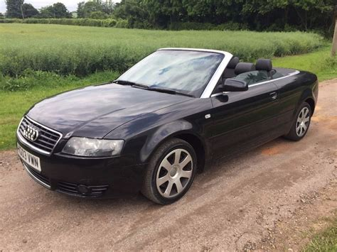 Audi B6 1 8 T by Audi A4 Cabriolet Convertible 2003 B6 1 8 T Cabriolet
