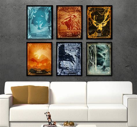 most popular tv shows set in illinois game of thrones poster set inspired by popular tv show