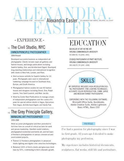 resume template new yorker blue loft resumes